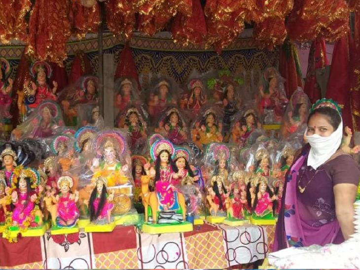 અમદાવાદમાં દશામાની મૂર્તિની સ્થાપના અને વિસર્જન ઘરે જ કરવું પડશે, સાબરમતી નદીમાં વિસર્જન પર પ્રતિબંધ અમદાવાદ,Ahmedabad - Divya Bhaskar