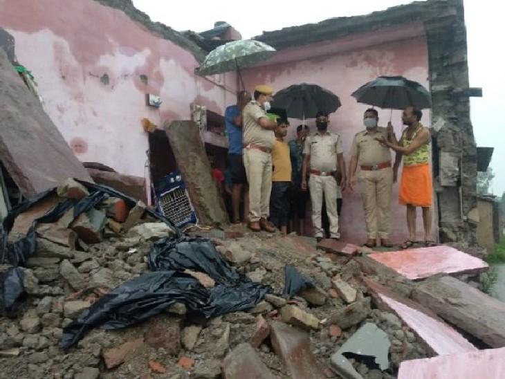 4 બાળક સહિત 3 લોકોનાં મોત, બુંદીમાં ચંબલ કિનારે સુરક્ષા દીવાલ તૂટીને મકાન પર પડવાથી દુર્ઘટના ઘટી|ઈન્ડિયા,National - Divya Bhaskar