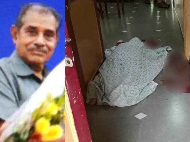મહીસાગર જિલ્લા ભાજપના કારોબારી સભ્ય અને પત્નીની તીક્ષ્ણ હથિયારથી હત્યા, ઘર-ગાર્ડનમાંથી લોહીલુહાણ હાલતમાં મૃતદેહો મળ્યા|વડોદરા,Vadodara - Divya Bhaskar