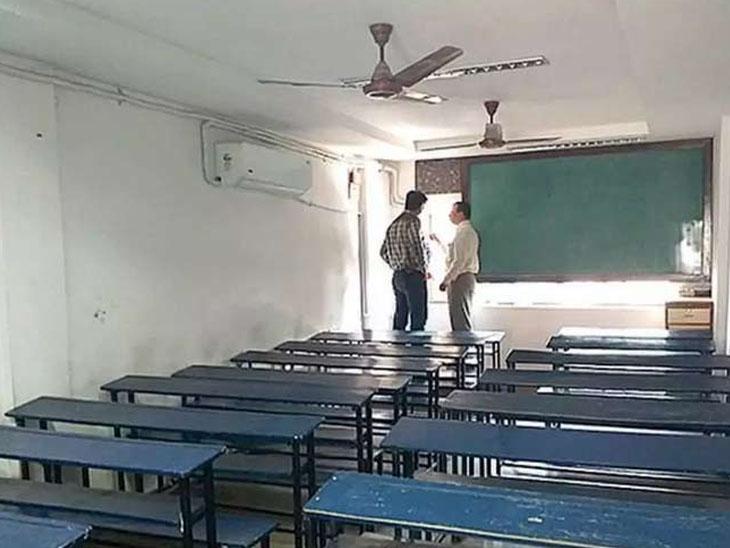 એક જ દિવસમાં 25 ટકા હાજરી ઘટી ગઈ, જો વિદ્યાર્થી પોઝિટિવ આવે તો 7 દિવસ સ્કૂલ બંધ રાખવા આદેશ|સુરત,Surat - Divya Bhaskar
