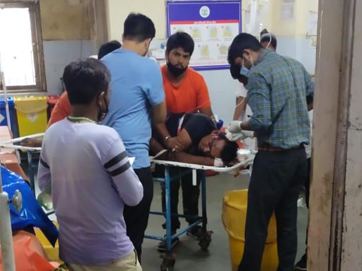 સુરત સિવિલ હોસ્પિટલમાં દર્દીની સારવાર હાથ ધરવામાં આવી. - Divya Bhaskar