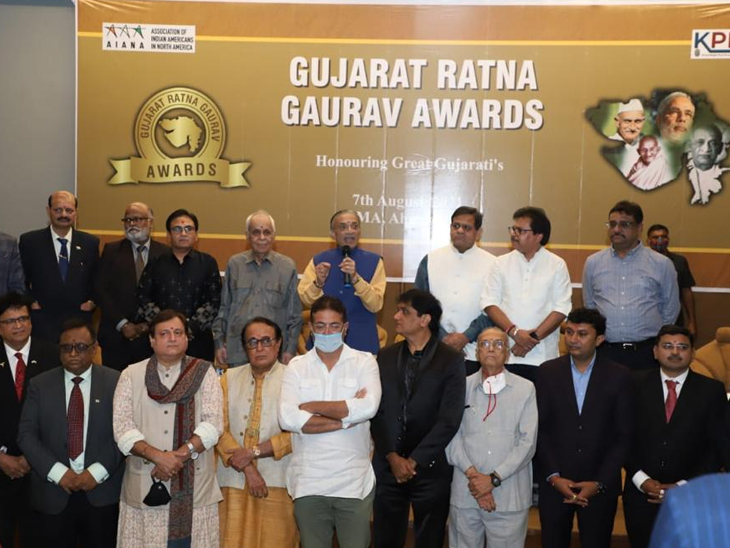પોતાના કાર્ય થકી સમાજને એક નવી પ્રેરણા આપનાર 28 ગ્રેટ ગુજરાતીઓનું ગુજરાત રત્ન ગૌરવ એવોર્ડથી સન્માન કરાયું|અમદાવાદ,Ahmedabad - Divya Bhaskar