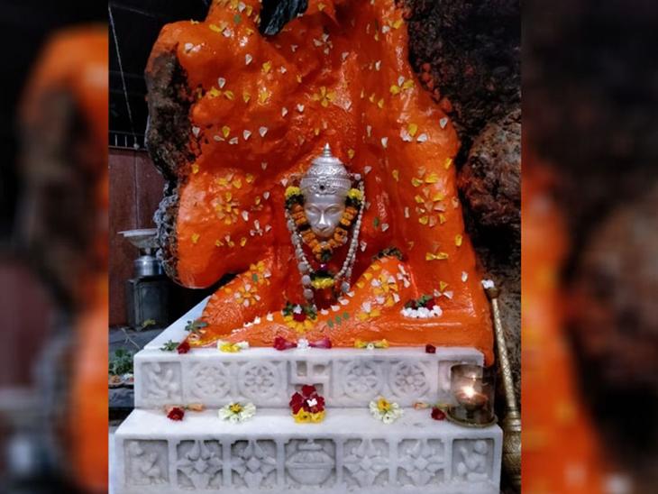 કલગામ હનુમાન મંદિર દર્શન માટે ખુલ્લું મુકાયુ|ભીલાડ,Bhilad - Divya Bhaskar