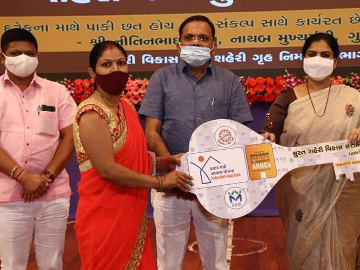 68 લાભાર્થીને 38.11 કરોડના આવાસોનું લોકાર્પણ ઓલપાડ,Olpad - Divya Bhaskar