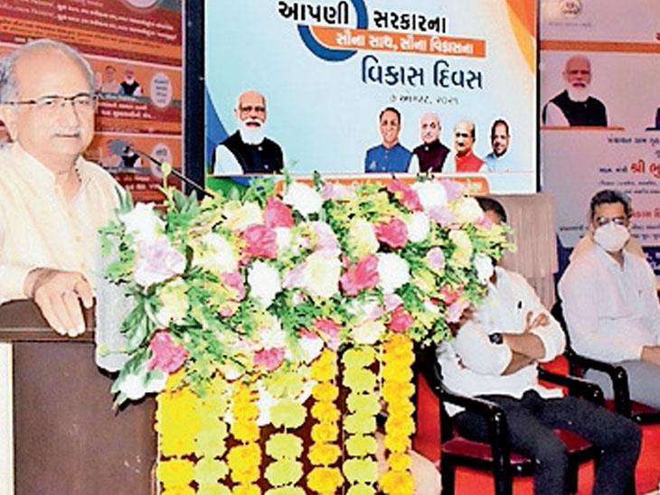 વિકાસનો આધારસ્તંભ, પાણી, આરોગ્ય, શિક્ષણ, રસ્તા અને વીજળી છેઃ શિક્ષણમંત્રી|ભરૂચ,Bharuch - Divya Bhaskar