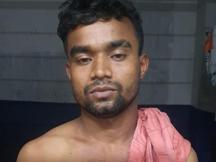 સુરતના પાંડેસરામાં સગીરા પર ગેંગરેપ કેસનો આરોપી કોર્ટમાં લઈ જતી પોલીસને ધક્કો મારીને નાસી ગયો, 30 કિમી દૂર સાયણથી પકડાયો|સુરત,Surat - Divya Bhaskar