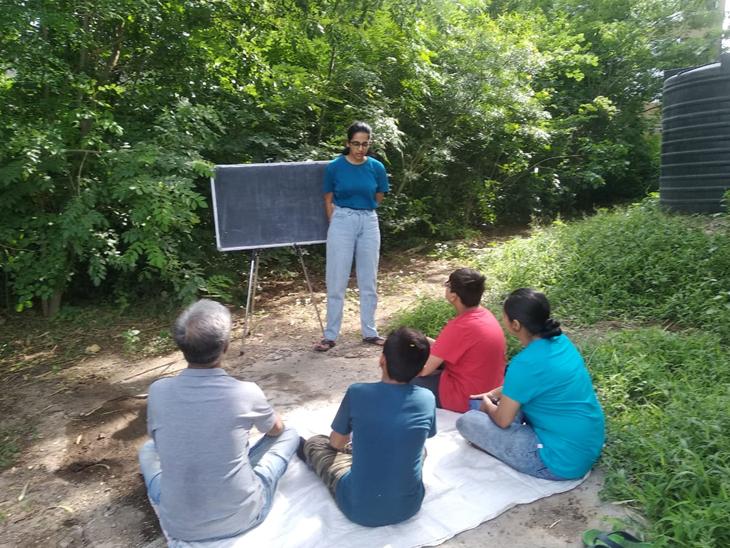 વિદ્યાર્થીથી લઇને વડીલો વનસ્પતિ, ઔષધિની વચ્ચે અભ્યાસ કરી શકશે રાજકોટ,Rajkot - Divya Bhaskar