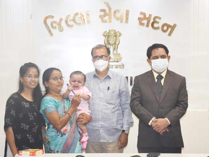 મહારાષ્ટ્રના દંપતીએ કર્તવ્યને દત્તક લીધો - Divya Bhaskar