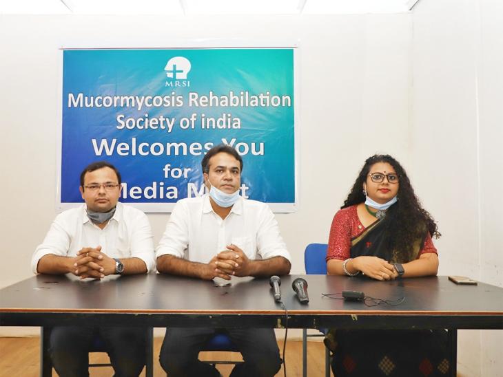 ગુજરાતમાં મ્યુકરમાઈકોસિસની રૂ.50 હજારથી 5 લાખના ખર્ચે નવીનતમ સારવાર, હવે દર્દીઓને દરરોજ પડતી મુશ્કેલીઓમાંથી છૂટકારો મળશે|અમદાવાદ,Ahmedabad - Divya Bhaskar