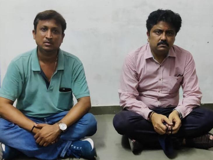 તરજ દીવાનજી, વિરલ સોની(ડાબેથી) - Divya Bhaskar
