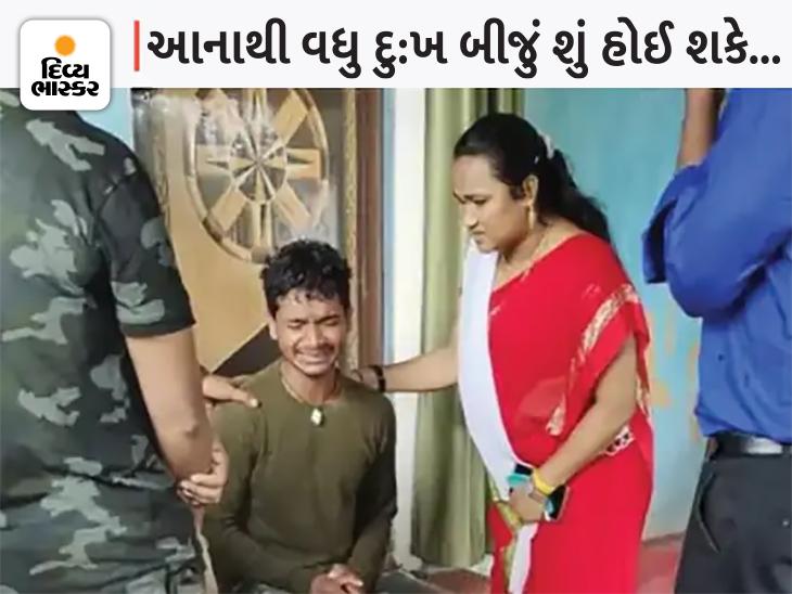 છોકરાના હાથમાં માતાનો જ મૃતદેહ; તળાવમાં ટ્રેક્ટર-ટ્રોલી પલટાયા પછી DRG જવાન લોકોનું રેસ્ક્યુ કરી રહ્યાં હતાં, પોતાની જ માતાનો મૃતદેહ મળી આવ્યો|ઈન્ડિયા,National - Divya Bhaskar