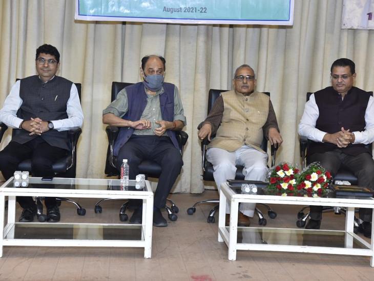 પાંચમાં દિવસે GTUના કુલપતી નવીન શેઠ, સૌરાષ્ટ્ર યુનિવર્સિટીના કુલપતી નીતિન પેથાણી મુખ્ય વક્તા તરીકે હાજર રહ્યા અમદાવાદ,Ahmedabad - Divya Bhaskar