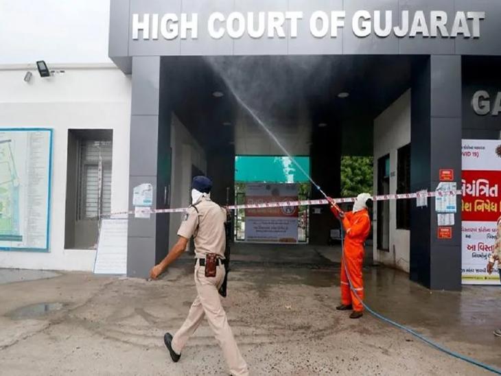 ગુજરાત હાઈકોર્ટ 12 ઓગસ્ટથી 3 દિવસ બંધ, પ્રત્યક્ષ સુનાવણી શરૂ કરતા પહેલા સેનેટાઈઝ કરાશે, 65થી વધુ વયની વ્યક્તિના પ્રવેશ પર પ્રતિબંધ|અમદાવાદ,Ahmedabad - Divya Bhaskar