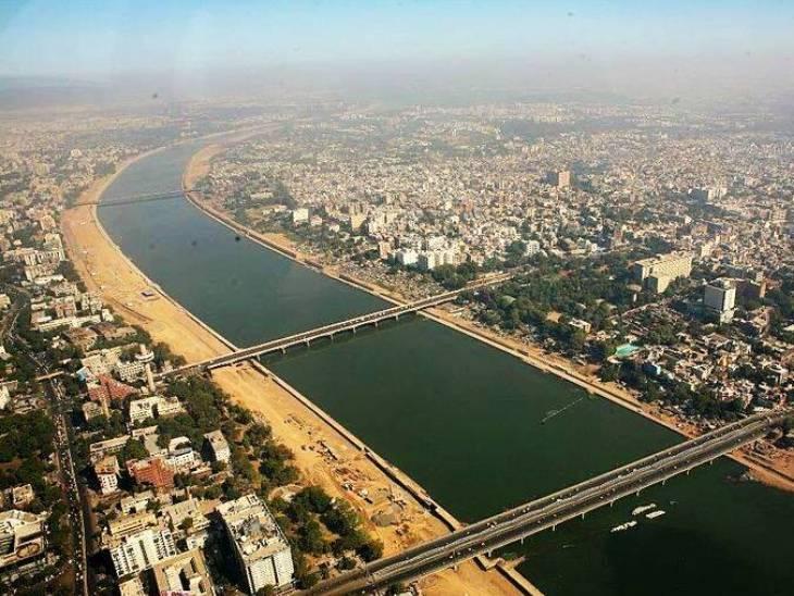 સાબરમતી નદી પર નવો બ્રિજ બનાવવાનો પ્રોજેક્ટ. - Divya Bhaskar