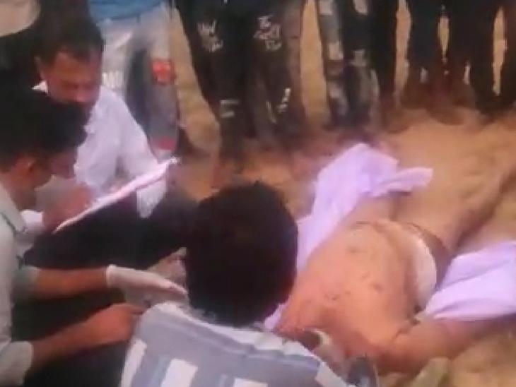 કાંકરેજના ખારિયાના યુવાનની હત્યા કરી હત્યારા ફરાર થઈ ગયા|પાલનપુર,Palanpur - Divya Bhaskar