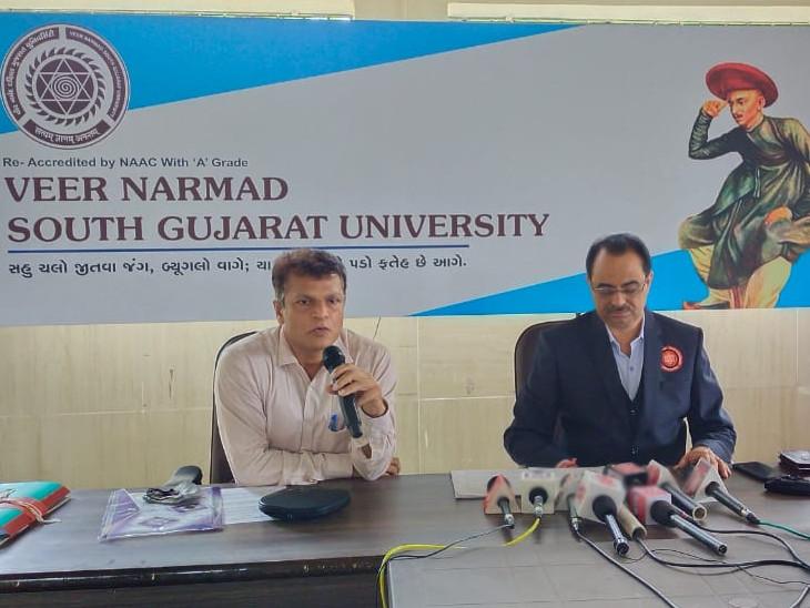 વીર નર્મદ દક્ષિણ ગુજરાત યુનિવર્સિટી દ્વારા વોટ્સએપ ચેટબોટ 15 ઓગસ્ટથી લોંચ થશે, યુનિવર્સિટી અંગેની તમામ સાર્વજનિક માહિતી 24 કલાક મળશે|સુરત,Surat - Divya Bhaskar