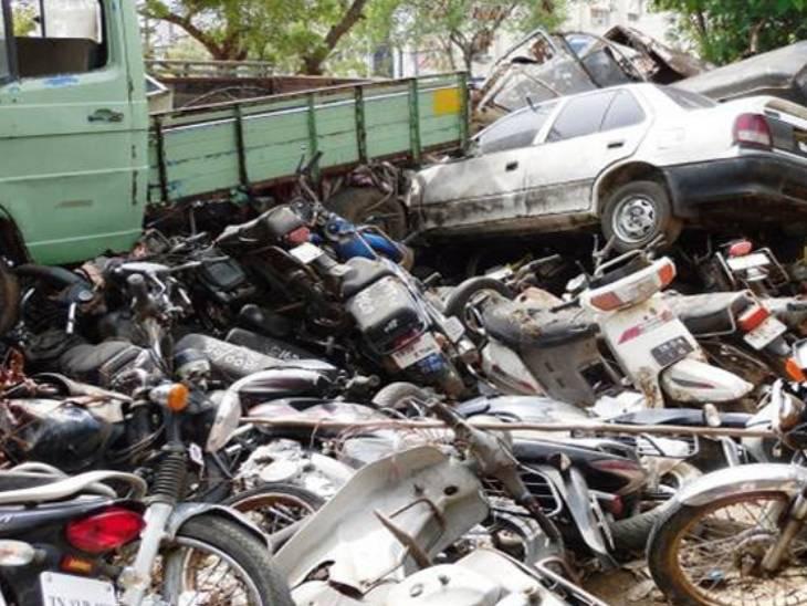 વાહનો માટે ગુજરાતમાં ચાર સ્થળે ભંગારવાડા બનશે (ફાઈલ ફોટો)
