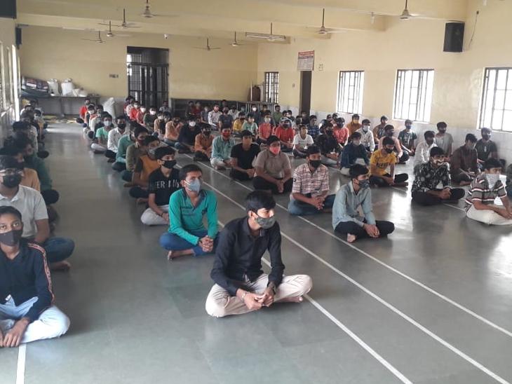 વિદ્યાર્થીઓને તંદુરસ્ત રહેવા ઉપયોગી માર્ગદર્શન. - Divya Bhaskar