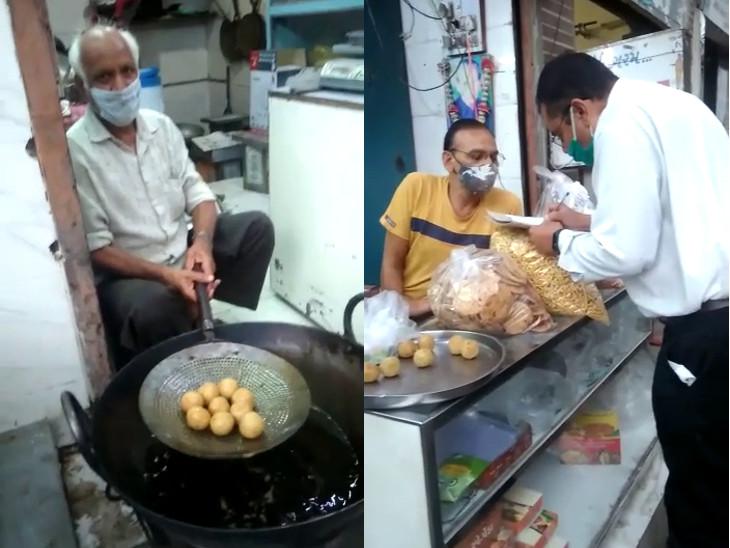 રાજકોટમાં ગિરિરાજ એન્ટરપ્રાઇઝ અને જય ખોડીયાર ટ્રેડર્સમાં ફૂડ શાખાના દરોડા, ભેળસેળ યુક્ત ખાદ્યપદાર્થ મળી આવતા રૂ.2.95 લાખનો દંડ ફટકાર્યો|રાજકોટ,Rajkot - Divya Bhaskar