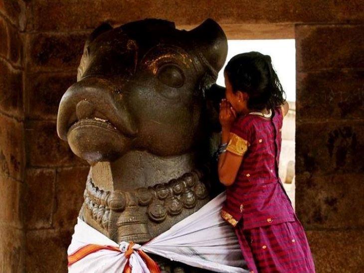 શિવ મંદિરમાં નંદીના કાનમાં મનોકામના કેમ બોલવામાં આવે છે?|ધર્મ,Dharm - Divya Bhaskar