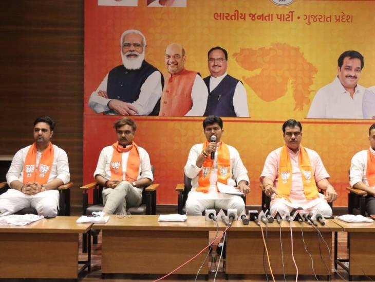 ડો. કોરાટે પત્રકાર પરિષદ યોજી હતી - Divya Bhaskar