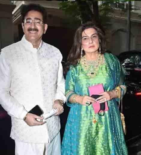 અનિલ કપૂરની બહેન રીના પતિ સાથે