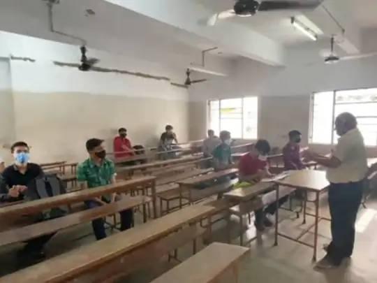 15 જુલાઈથી ધોરણ 12ની સ્કૂલો ઓફલાઇન શરૂ થઈ હતી.