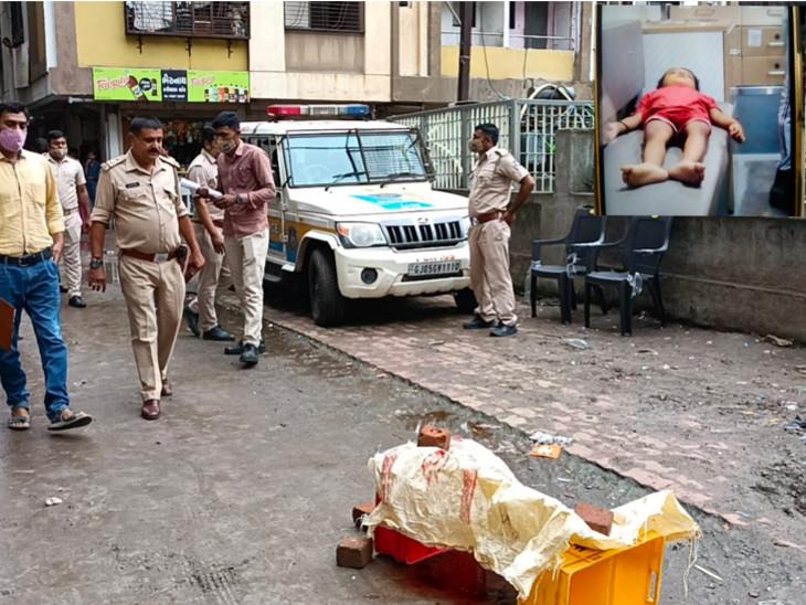 સુરતના કડોદરામાં સગર્ભા માતાએ પુત્રની હત્યા કર્યા બાદ ચોથા માળેથી કૂદી આપઘાત કર્યો, બંધ ઘરમાંથી દીકરાનો મૃતદેહ મળ્યો સુરત,Surat - Divya Bhaskar