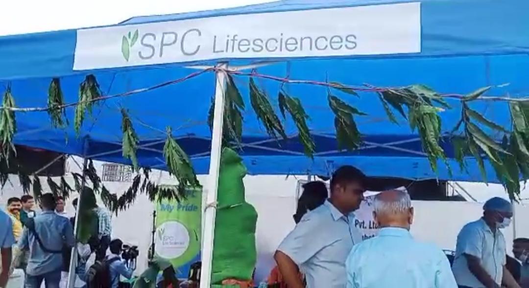 ધારાસભ્ય અરૂણસિંહ રણાની ઉપસ્થિતમાં દહેજમાં SPC લાઇફ સાયન્સ કંપનીનું ભૂમિપૂજન કરાયું|ભરૂચ,Bharuch - Divya Bhaskar
