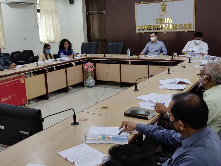 સ્વામિત્વ યોજના અંતર્ગત 578 ગામોના ગામતળની જમીનનો સરવે કરી માલિકોને પ્રોપર્ટી કાર્ડ અપાશે|સુરેન્દ્રનગર,Surendranagar - Divya Bhaskar