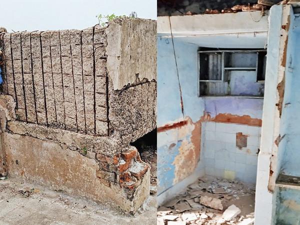 જર્જરિત મકાનો રહીશો માટે જોખમી બની રહ્યાં છે અને રિડેવલપમેન્ટનું કામ ધીમી ગતિએ ચાલે છે અમદાવાદ,Ahmedabad - Divya Bhaskar