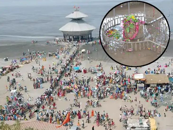 સ્તંભેશ્વર મહાદેવ જ્યોતિર્લિંગ; આ મંદિર દિવસમાં બેવાર સમુદ્રમાં ડૂબી જાય છે, કાર્તિકેય સ્વામીજીએ સ્થાપના કરી હતી|ધર્મ,Dharm - Divya Bhaskar