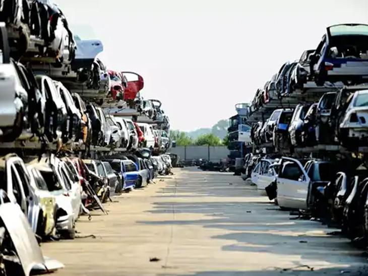 સ્ક્રેપ પોલિસીથી 15 વર્ષ જૂના વાહનોની કિંમત 70% ઘટી, રાજકોટમાં 6.29 લાખ બાઈક અને 39,996 કાર સહિત 7 લાખ જૂના વાહન|રાજકોટ,Rajkot - Divya Bhaskar