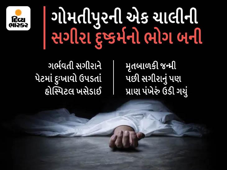 અમદાવાદમાં યુવકે સગીરાનું અપહરણ કરી બળાત્કાર ગુજારી ગર્ભવતી બનાવી, બાળકીનું ગર્ભમાં અને સગીરાનું સારવાર દરમિયાન મોત અમદાવાદ,Ahmedabad - Divya Bhaskar