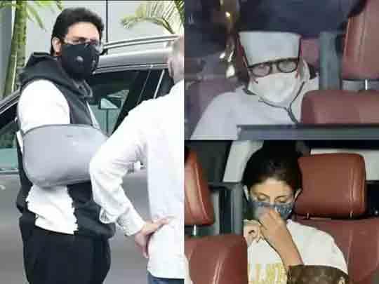 રક્ષાબંધનના દિવસે જ દીકરો એડમિટ થતાં અમિતાભ ખબર કાઢવા હોસ્પિટલ ગયા, બહેન શ્વેતા ચિંતાગ્રસ્ત|બોલિવૂડ,Bollywood - Divya Bhaskar