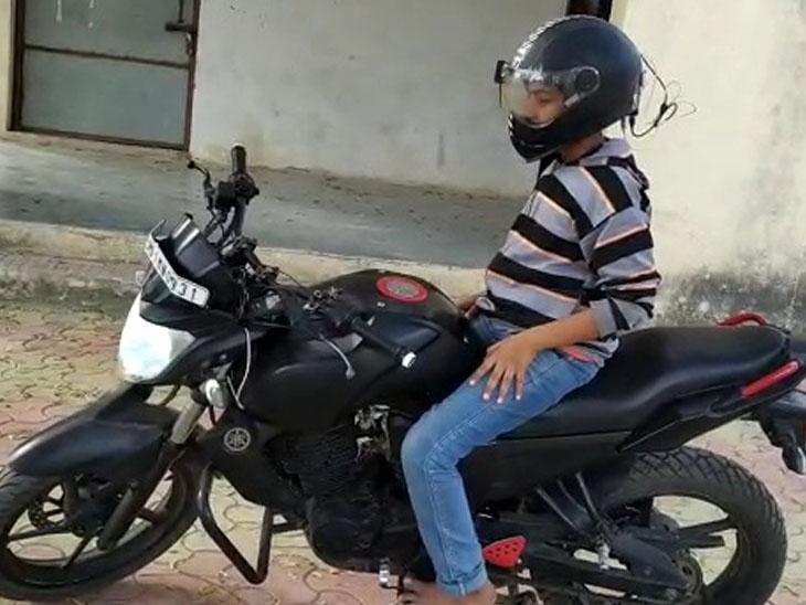 સ્માર્ટ હેલ્મેટ કે જે પહેર્યા વગર બાઈક ચાલુ થતું નથી જામનગર,Jamnagar - Divya Bhaskar