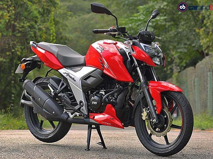 TVS Apache RTR 160 4V બાઇકના ભાવ ફરી એકવાર વધ્યાં, ગ્રાહકોએ હવે ખરીદવા ₹4,250 વધુ ચૂકવવા પડશે|ઓટોમોબાઈલ,Automobile - Divya Bhaskar