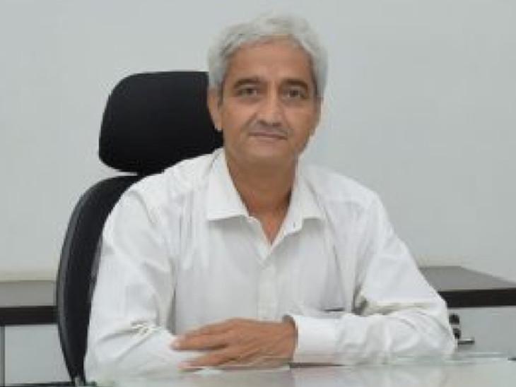 કલેક્ટર આર.બી.બારડ - Divya Bhaskar