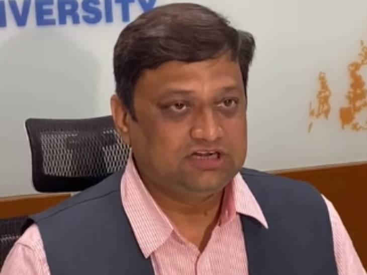 ગુજરાત યુનિવર્સિટીના કુલપતિ ડૉ.હિમાંશુ પંડ્યા.