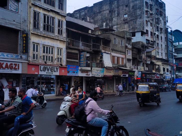 મેટ્રોના ભૂગર્ભ સ્ટેશન માટે મહિધરપુરા પોલીસ સ્ટેશન તોડાશે, મોચીની ચાલ તોડવા સામે વિરોધ|સુરત,Surat - Divya Bhaskar