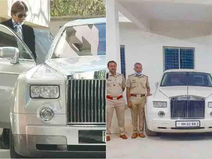 અમિતાભ બચ્ચનની રોલ્સ રોયસ કર્ણાટક પોલીસે જપ્ત કરી, 'સલમાન ખાન' કાર ચલાવતો હતો!|બોલિવૂડ,Bollywood - Divya Bhaskar