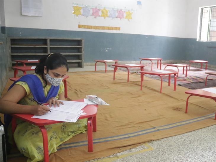 શિક્ષક સજ્જતા કસોટીમાં 1.51 લાખ શિક્ષકોમાંથી 57 હજાર જેટલા શિક્ષકોએ જ પરીક્ષા આપી|ગાંધીનગર,Gandhinagar - Divya Bhaskar