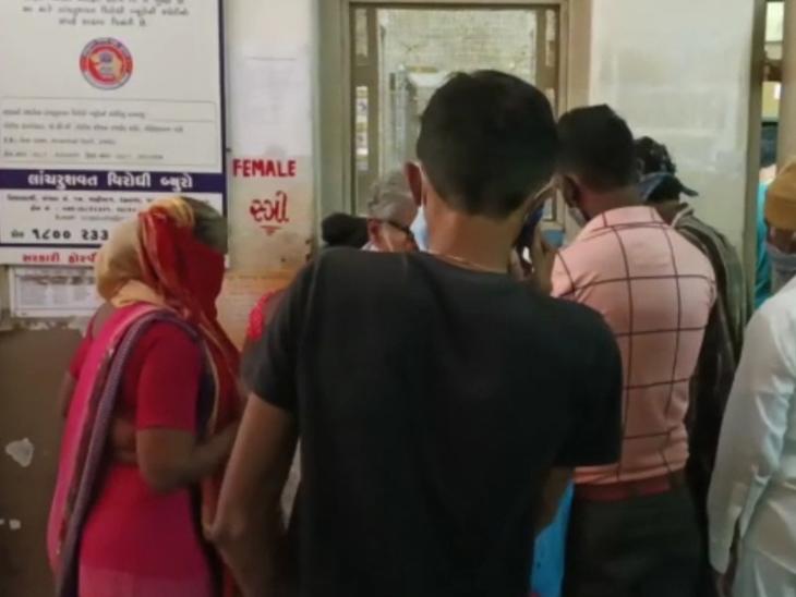 જેતપુરમાં રોગચાળાએ માથું ઊંચકતા સિવિલની ઓપીડી અને લેબોરેટરી દર્દીઓથી ઊભરાઇ - Divya Bhaskar