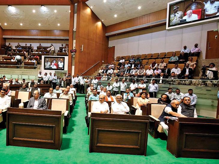 27-28 સપ્ટેમ્બરના રોજ મળશે ગુજરાત વિધાનસભાનું સત્ર, કોરોના, સંભવિત દુષ્કાળ, વાવાઝોડાની સહાય મુદ્દે વિપક્ષ સરકારને ઘેરશે|અમદાવાદ,Ahmedabad - Divya Bhaskar