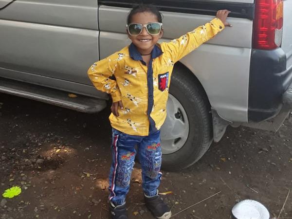 મૃતક  6 વર્ષીય પુત્ર ધ્રુવિશ પટેલની ફાઇલ તસવીર. - Divya Bhaskar