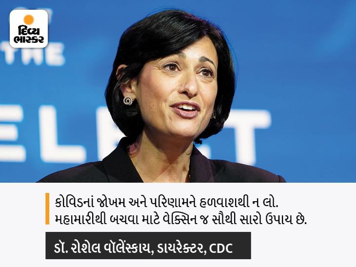 વેક્સિન ન લેનારા લોકોમાં કોવિડ થવાનું જોખમ 29% વધારે તો હોસ્પિટલમાં દાખલ થવાનું જોખમ 29.2ગણું વધારે, CDCની સ્ટડીમાં દાવો કરાયો|હેલ્થ,Health - Divya Bhaskar