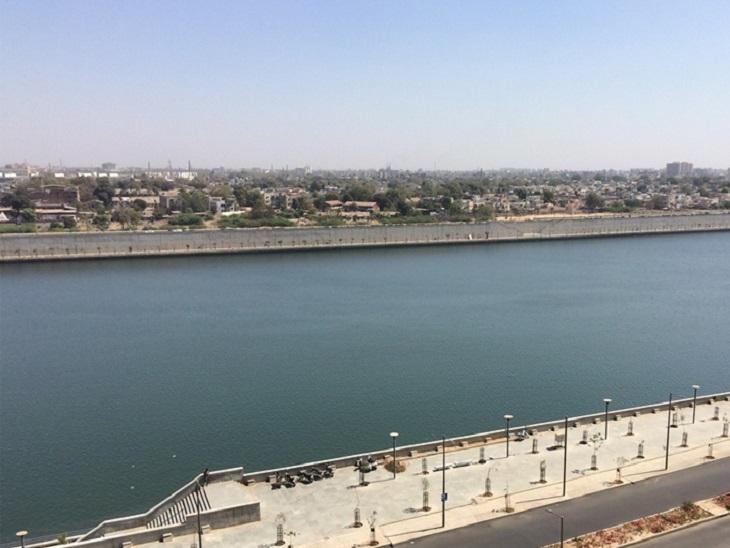 ચાલુ વર્ષે વરસાદ ઓછો પડતાં નર્મદા ડેમમાં ઓછું પાણી હોવાથી સાબરમતી નદીમાં પાણી છોડવામાં નહીં આવે|અમદાવાદ,Ahmedabad - Divya Bhaskar