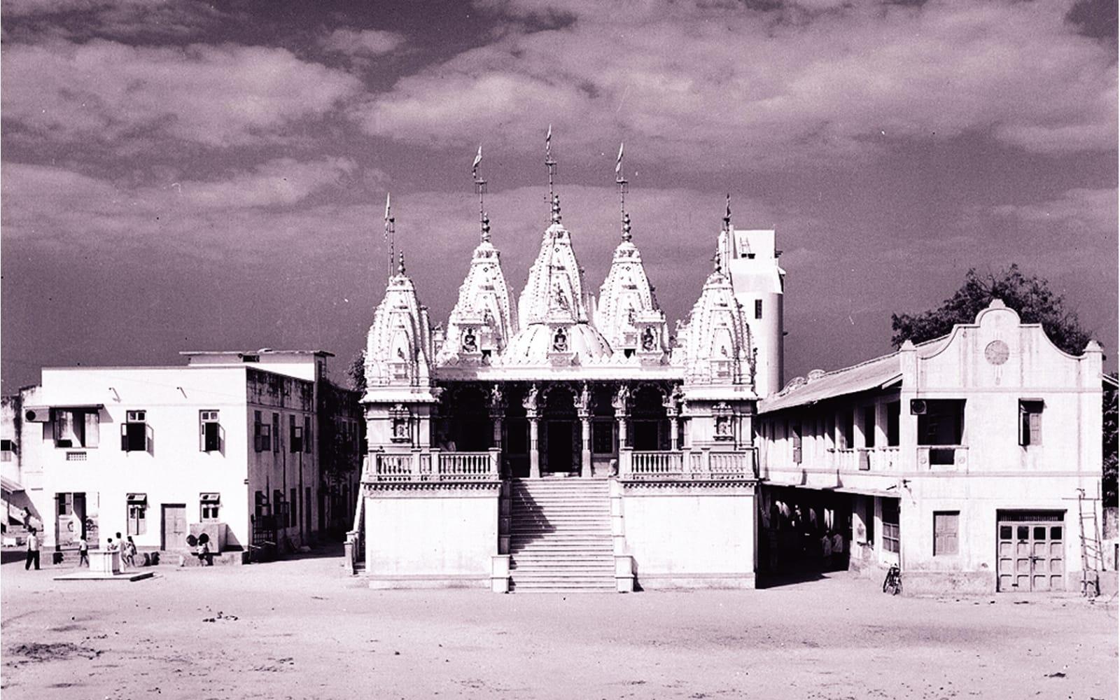 મણિનગર ખાતેનું સ્વામિનારાયણ ભગવાનનું મંદિર