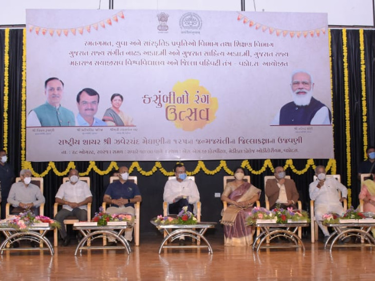 ગુજરાતનું પરમ ગૌરવ અને ગુજરાતી સાહિત્યના ગૌરવના સંવર્ધક હતાં-પ્રદિપસિંહ