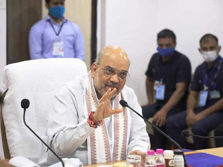 કેન્દ્રીય ગૃહ અને સહકાર મંત્રી અમિત શાહ - Divya Bhaskar